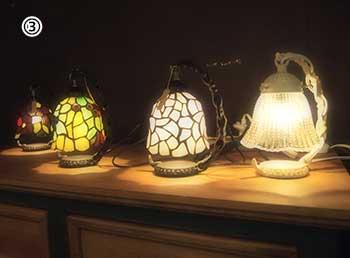 置型ランプ