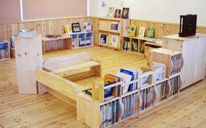 幼稚園のオーダー家具